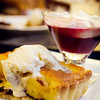 Sugar's Hibernating Bear with Whiskey Pear Tart. © Sugar + Shake