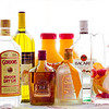 Yes, you need all this for a tasty sangria: Wine, gin, brandy, orange liqueur, rum, juice, fruit. © 2013 Sugar + Shake
