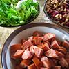 Portuguese Bean Soup essentials. © 2012 Sugar + Shake