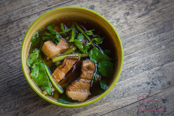 Pork Watercress Soup © 2014 Sugar + Shake