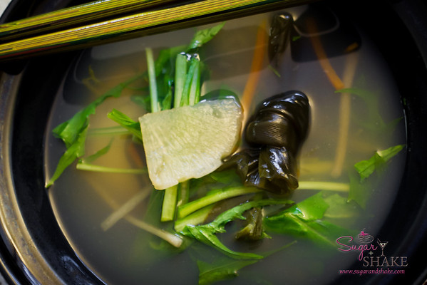 Japanese New Year's tradition: Ozoni (mochi soup). © 2013 Sugar + Shake