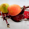 Impale the apple on the spikes... © 2012 Sugar + Shake