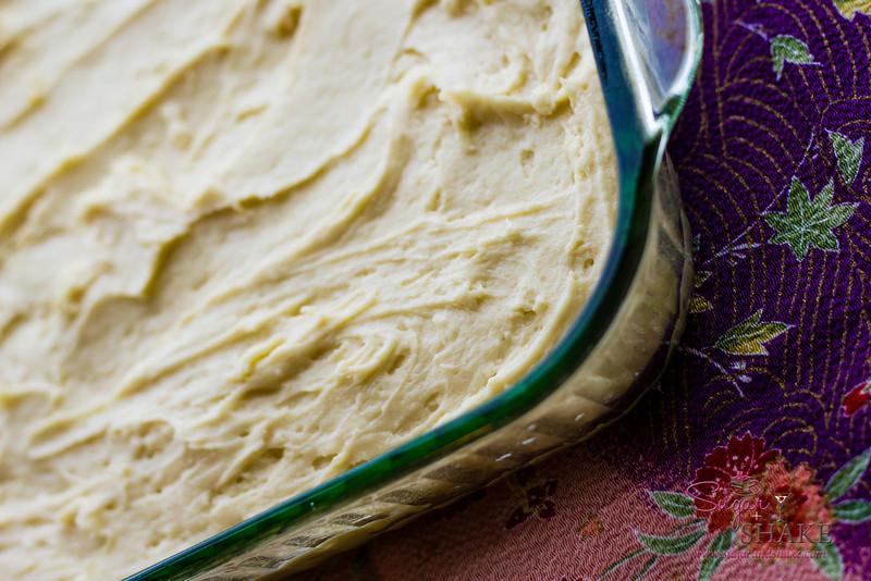 Tasty non-crumb cake layer. © 2013 Sugar + Shake