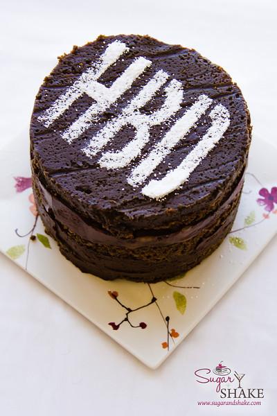 Happy Bourbon Day! Sugar + Shake celebrate with a Chocolate Bourbon Smoked-Tea Cake. Mmmm... © 2013 Sugar + Shake