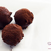 Chocolate Bourbon Smoked-Tea Cake Truffles. © 2013 Sugar + Shake