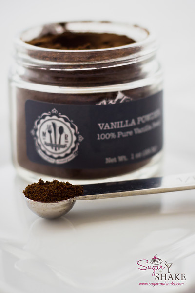 Vanilla Powder from Maui Preserved — made from vanilla seeds and pods. Amazing taste...kind of like Lucky Charms marshmallows! © 2013 Sugar + Shake