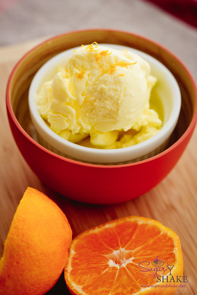 "Blood Orange Olive Oil Ice Cream. Read about it <a href=""http://sugarandshake.com/blood-orange-olive-oil-ice-cream"">on the blog</a>. © 2012 Sugar + Shake"