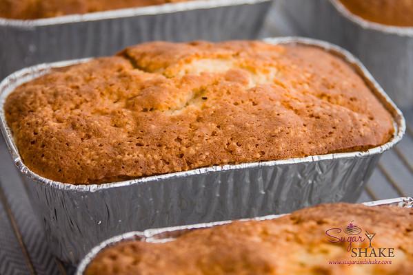 Kaffir Lime Vanilla Pound Cake. © 2014 Sugar + Shake