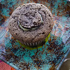 Filled cupcake, ready to be frosted. © 2012 Sugar + Shake