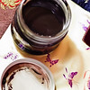 Black as ink and thick — pretty much exactly like tahini or fresh-ground peanut butter. © 2012 Sugar + Shake