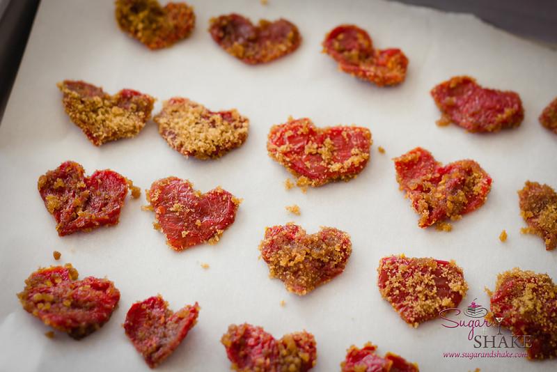 A sweet-savory-tart garnish. © 2013 Sugar + Shake