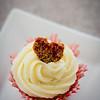 "A ""Love Apple"" Cupcake for your sweetheart. © 2013 Sugar + Shake"