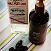 Maraschino liqueur and Morello cherry juice...and a pile of dried cherries. © 2012 Sugar + Shake