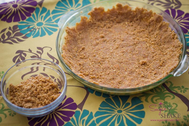 Momofuku Milk Bar Graham Cracker Pie Crust. The. Best. Ever. Graham cracker crust you will ever have. © 2013 Sugar + Shake