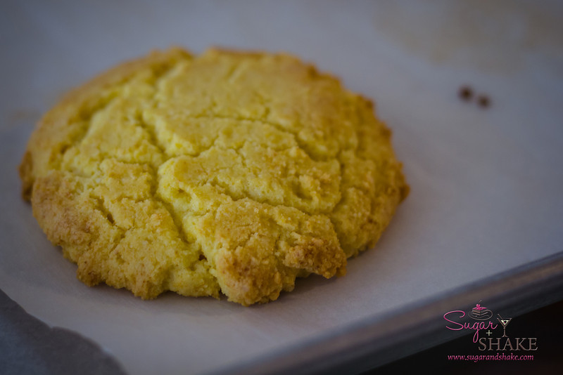 The cookies are very puffy when they come out of the oven...kind of like Corn Pops cereal! © 2013 Sugar + Shake