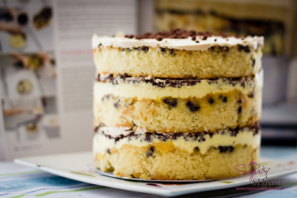 Et voila, Momofuku Milk Bar Chocolate Chip Layer Cake! © 2013 Sugar + Shake