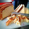 Step One: Bread butchery. © 2015 Sugar + Shake