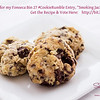 "Please vote for Sugar's ""Smoking Jacket Cookies"" (Dark Chocolate & Cheesecake Chunk Smoked Tea Shortcake Cookies) in the Fonseca BIN 27 Port Cookie Rumble contest. Here's the link to vote: <a href=""http://bit.ly/16qZBYm"">http://bit.ly/16qZBYm</a>. © 2013 Sugar + Shake"