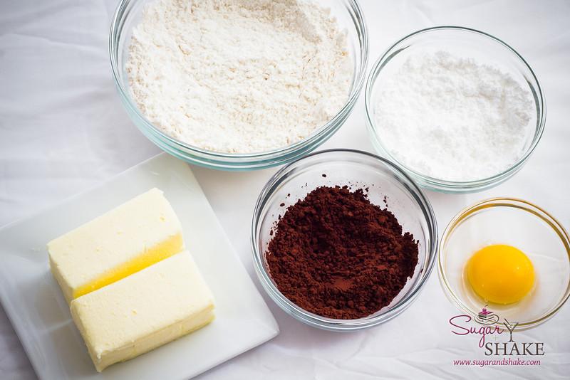 Cookie ingredients. © 2013 Sugar + Shake