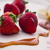 Kula strawberries, Big Island honey. Start with good ingredients, you always get something delicious! © 2014 Sugar + Shake