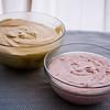 Honey and strawberry cream, no churning involved! © 2014 Sugar + Shake