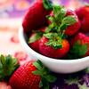 Super-saturated strawberry color. © Sugar + Shake