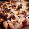 Holiday dinner party dessert: A twist on the regular bread pudding recipe. Cranberry-Orange Sweet Bread Pudding. © 2012 Sugar + Shake