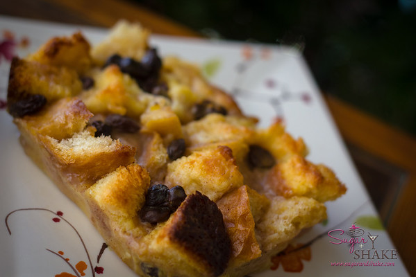 Bourbon Bread Pudding. A Sugar + Shake tradition. © 2012 Sugar + Shake