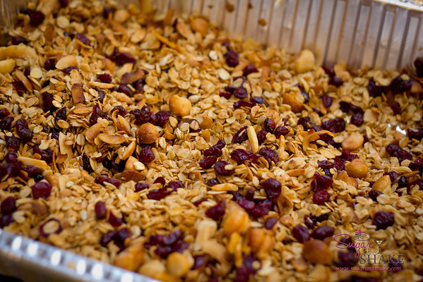 This year, Shake wanted to make granola to go along with our Bread Pudding gfts. © 2012 Sugar + Shake