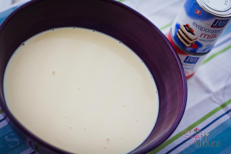 Leche, leche and more leche! © 2012 Sugar + Shake