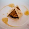 Monte Bianco (chestnut purée, custard filling with yuzu honey sauce) at Arancino at The Kahala Hotel. © 2014 Sugar + Shake