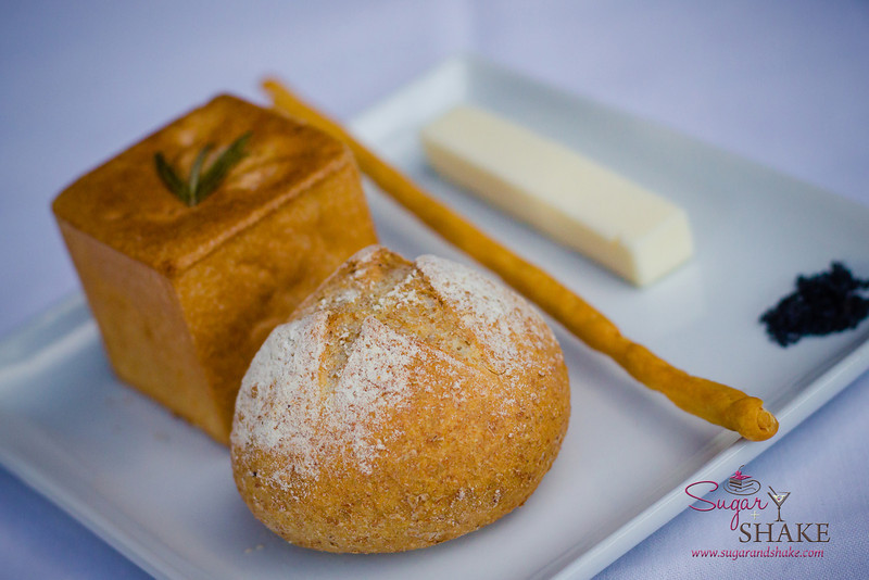 "Even the ""bread basket"" is beautiful at Arancino at The Kahala Hotel. © 2014 Sugar + Shake."