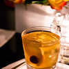House-made vermouth (good luck replicating THAT!) over ice at L'Apertif. Incredible. © 2013 Sugar + Shake