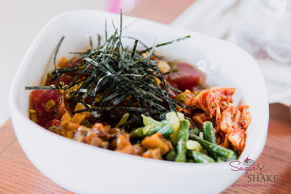 'Ahi Poke Bowl from MW Restaurant. © 2014 Sugar + Shake