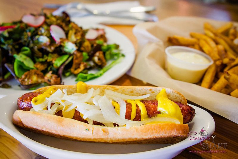 Our mandatory stop at Leoda's for Fried Salad, plus hot dogs this time around. © 2014 Sugar + Shake