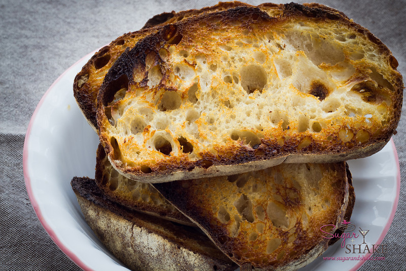 City Loaf, toasted, from Breadshop. © 2013 Sugar + Shake