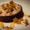 The menu also includes some new desserts, like this Malted Chocolate & Peanut Butter Tart with Caramel Krispy topping. © 2013 Sugar + Shake