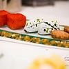 Sugar's Birthday Dinner — Orchids at the Halekulani. Petits Fours: Li Hing Marshmallows; Green Tea Chocolate Truffles; Cookies. © 2013 Sugar + Shake