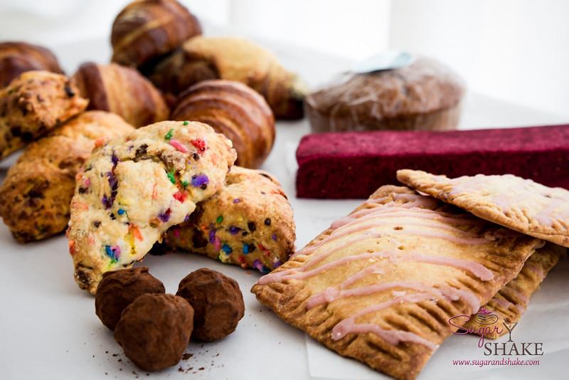 Baker Faire goodies. © 2014 Sugar + Shake