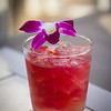 Cocktail for Christmas Eve at Halekulani. House Without a Key's Rio Bramble. © 2014 Sugar + Shake