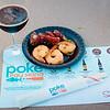 "Foodland Poke Pau Hana Preview Event. Pairing #7: Kimchee-Style Shrimp Poke + Big Island Brewhaus Coconut Porter. Pairing #8: Limu 'Ahi Poke + Gigantic ""The Business."" © 2016 Sugar + Shake"