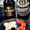 Foodland Poke Pau Hana Preview Event. Pairing #5: Imitation Crab Salad + Coedo Shikkoku Black Lager. Pairing #6: Oyster Sauce 'Ahi Poke + Belching Beaver Milk Stout. © 2016 Sugar + Shake
