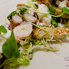"Grilled Octopus at Ka'ana Kitchen with Surfing Goat Dairy ""Secret Sicily"" chèvre, watercress, asparagus, grilled bread. © 2014 Sugar + Shake"
