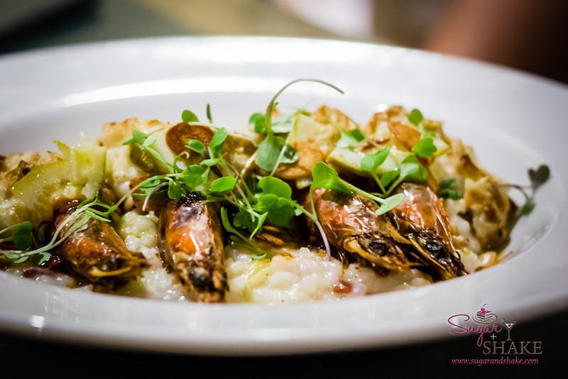 Moloka'i Prawn Risotto at Pulehu, an Italian Grill at The Westin Kā'anapali Ocean Resort Villas. © 2013 Sugar + Shake