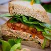 Spicy Tuna Salad Sandwich at Leoda's Kitchen & Pie Shop. © 2013 Sugar + Shake