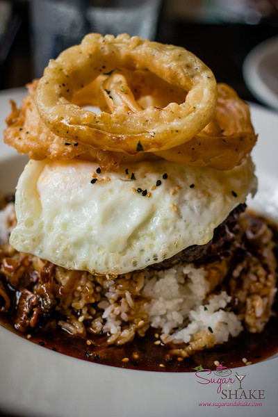 Loco Moco at Three's Bar & Grill in Kihei. © 2013 Sugar + Shake