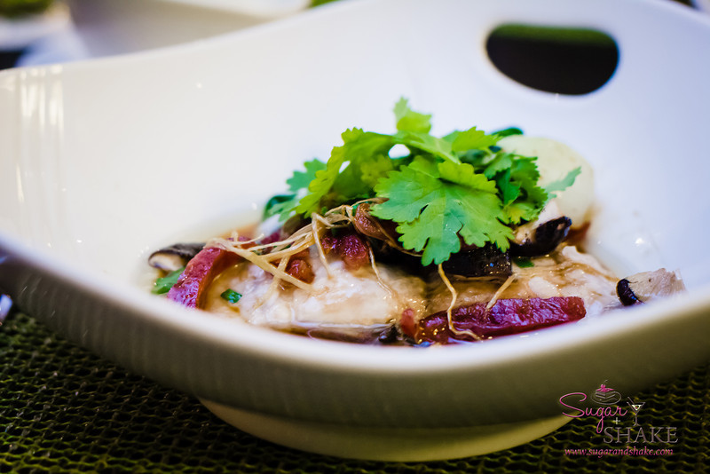 Ginger Steamed Catch of the Day at Kō at The Fairmont Kea Lani. © 2013 Sugar + Shake