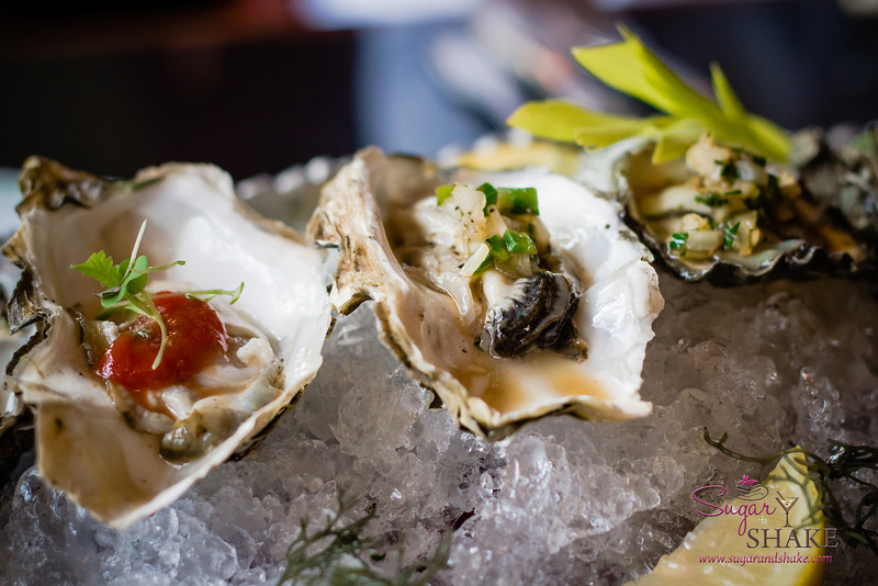 Penncove oysters at Three's Bar & Grill in Kihei. © 2013 Sugar + Shake