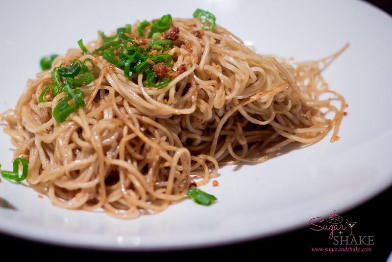 Garlic Fried Noodles at Star Noodle. © 2013 Sugar + Shake