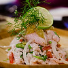 Ceviche. #MalamaMaui media dinner at Travaasa Hāna's Ka'uiki Restaurant. © 2015 Sugar + Shake